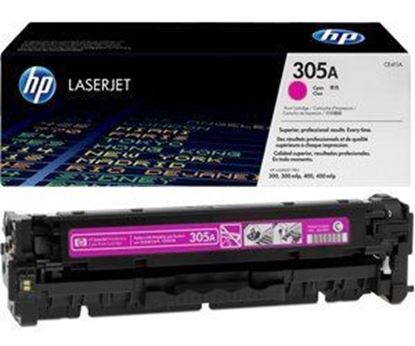 Picture of HP 305A Magenta Original Toner Cartridge (CE413A Laser Toner)