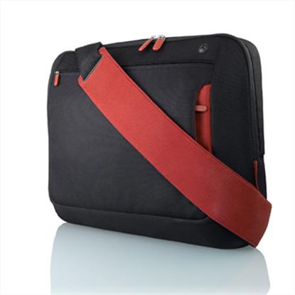"""Picture of Belkin 17"""" Jet Cabernet Notebook Messenger Bag"""