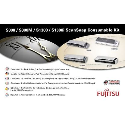 Picture of Fujitsu Consumables Kit for S300, S300M, S1300(M), S1300i