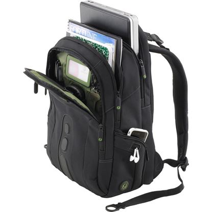 "Picture of Targus Ecospruce 15.6"" Black Laptop Backpack"