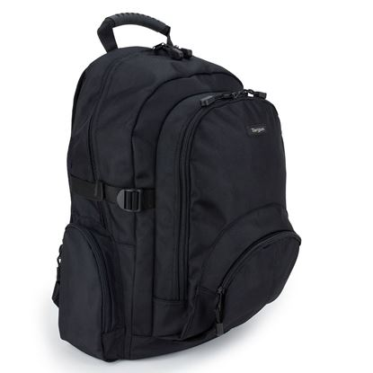 "Picture of Targus Classic 15.6"" Black Laptop Backpack"