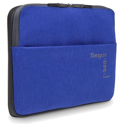 "Picture of Targus 360 Perimeter 14"" Blue Laptop Sleeve"