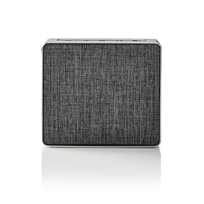 Picture of Nedis Bluetooth® Speaker | 15 W | Metal Crafted Design | Gun Metal Grey