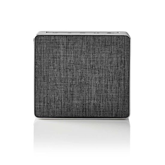 Picture of Nedis Bluetooth® Speaker | 15 W | Metal Crafted Design | Gun Metal Grey
