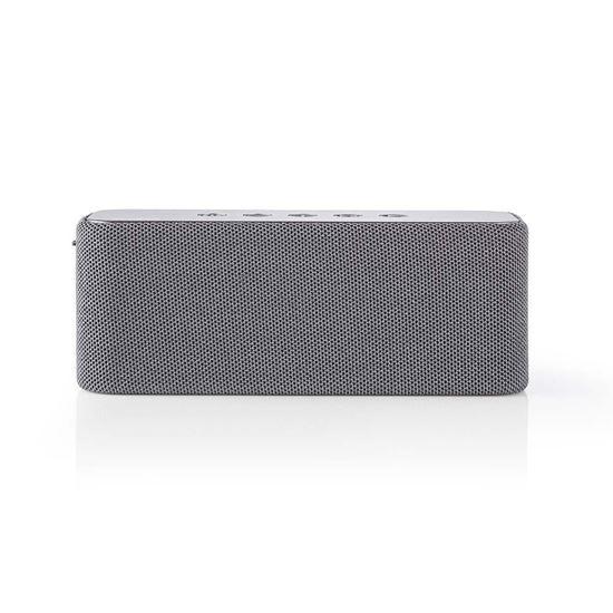 Picture of Nedis Bluetooth® Speaker | 2x 30 W | True Wireless Stereo (TWS) | Waterproof | Grey