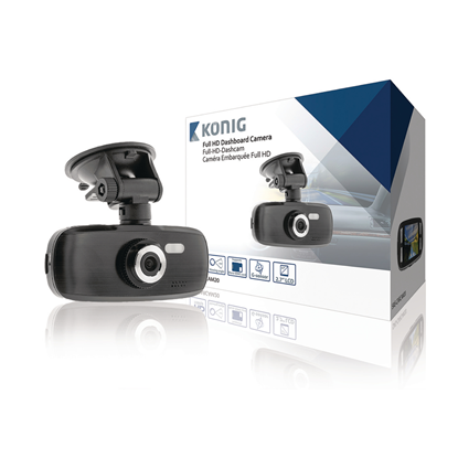 "Picture of Konig 2.7 "" Dashboard Camera 1920x1080"