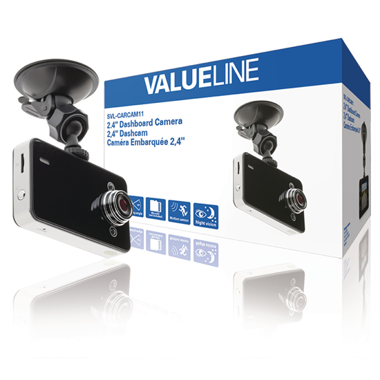 "Picture of Valueline 2.4 "" Dashboard Camera 1280x720"