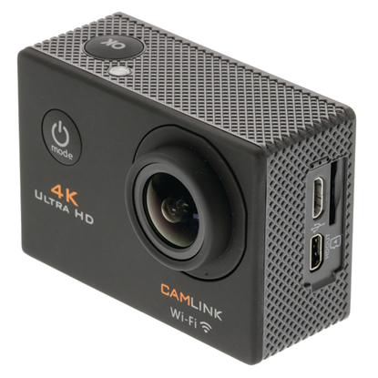 Picture of Camlink 4K Ultra HD Action Camera Wi-Fi Black