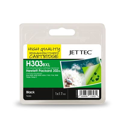 Picture of Red Bus Recycled HP 303XL Black Ink Cartridge
