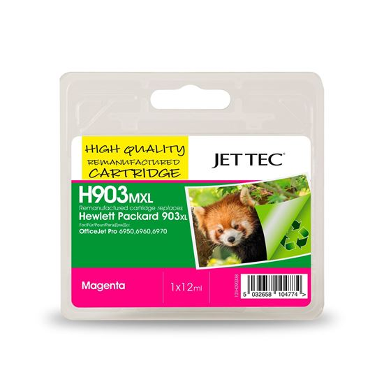 Picture of Red Bus Recycled HP 903XL High Yield Magenta (T6M07AE) Ink Cartridge