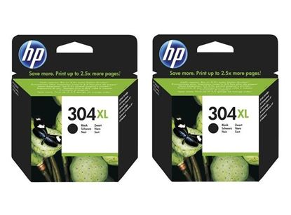 Picture of HP 304XL Black Original Ink Cartridge Twin Pack