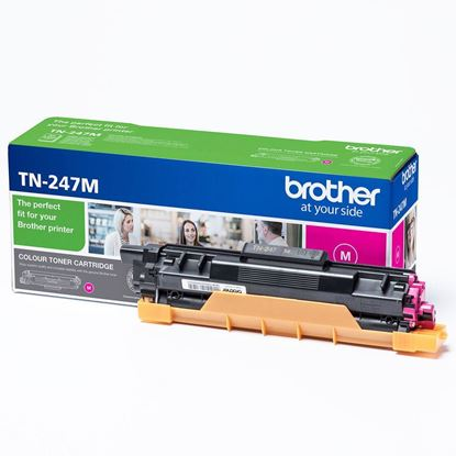 Picture of Brother TN-247M Magenta Original Toner Cartridge (TN247M Laser Toner)