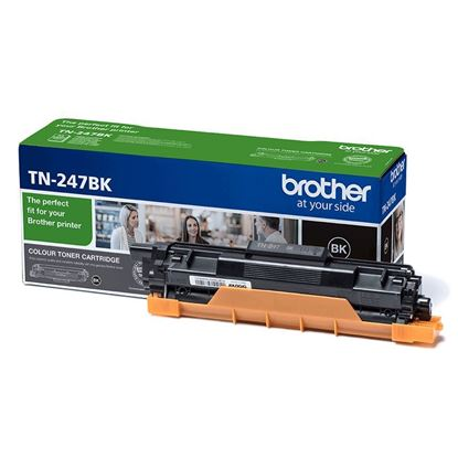 Picture of Brother TN-247BK Black Original Toner Cartridge (TN247BK Laser Toner)