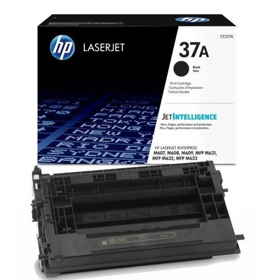 Picture of HP 37A Black Original Toner Cartridge (CF237A Laser Toner)