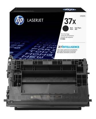 Picture of HP 37X High Yield Black Original Toner Cartridge (CF237X Laser Toner)