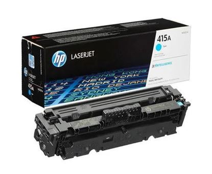 Picture of HP 415A Cyan Original Toner Cartridge (W2031A Laser Toner)