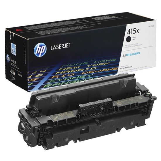 Picture of HP 415X High Yield Black Original Toner Cartridge (W2030X Laser Toner)