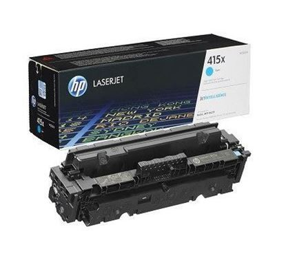 Picture of HP 415X High Yield Cyan Original Toner Cartridge (W2031X Laser Toner)