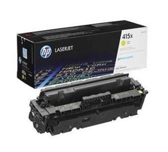 Picture of HP 415X High Yield Yellow Original Toner Cartridge (W2032X Laser Toner)