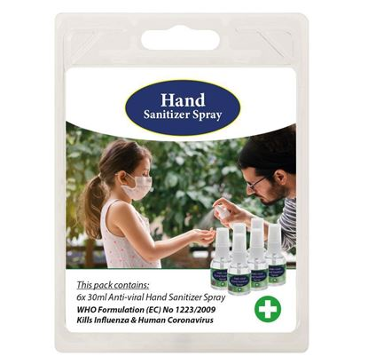 Picture of Red Bus Hand Sanitizer 180ml Pack