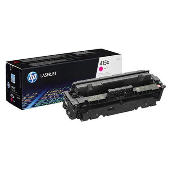 Picture of HP 415X High Yield Magenta Original Toner Cartridge (W2033X Laser Toner)