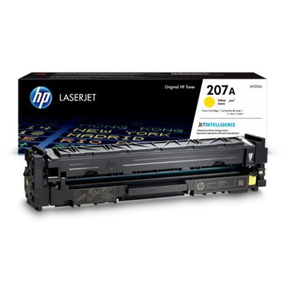 Picture of HP 207A Yellow Original Toner Cartridge (W2212A Laser Toner)