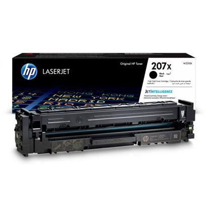 Picture of HP 207X High Yield Black Original Toner Cartridge (W2210X Laser Toner)