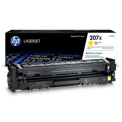 Picture of HP 207X High Yield Yellow Original Toner Cartridge (W2212X Laser Toner)