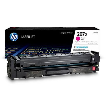 Picture of HP 207X High Yield Magenta Original Toner Cartridge (W2213X Laser Toner)
