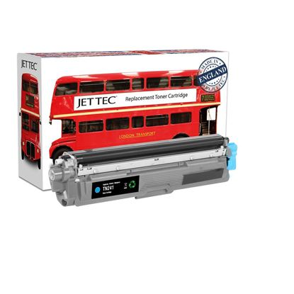 Picture of Red Bus Recycled Brother TN-241C Cyan Toner Cartridge