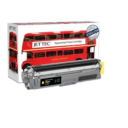 Picture of Red Bus Recycled Brother TN-241Y Yellow Toner Cartridge