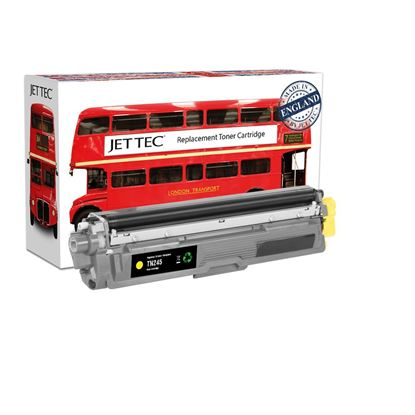 Picture of Red Bus Recycled Brother TN-245Y High Yield Yellow Toner Cartridge