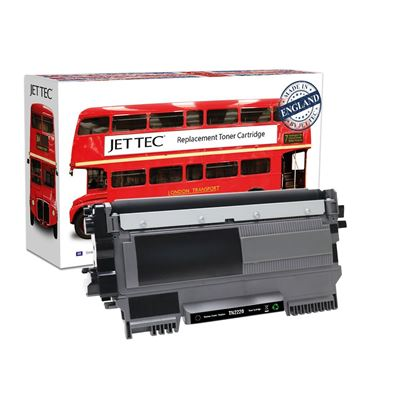 Picture of Red Bus Recycled Brother TN-2220 High Yield Black Toner Cartridge