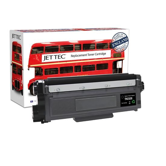 Picture of Red Bus Recycled Brother TN-2320 High Yield Black Toner Cartridge