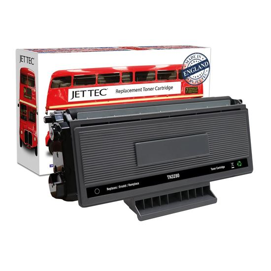 Picture of Red Bus Recycled Brother TN-3280 High Yield Black Toner Cartridge