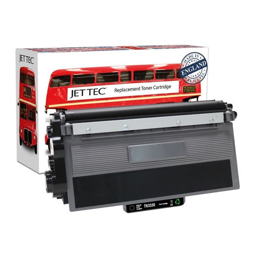 Picture of Red Bus Recycled Brother TN-3330 Black Toner Cartridge