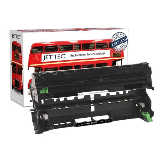 Picture of Red Bus Recycled Brother DR-3400 Drum Unit