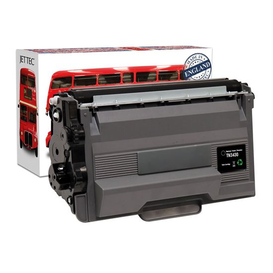 Picture of Red Bus Recycled Brother TN-3430 Black Toner Cartridge