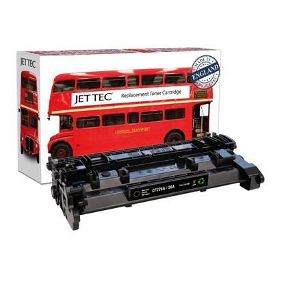Picture of Red Bus Recycled HP 26A Black (CF226A) Toner Cartridge