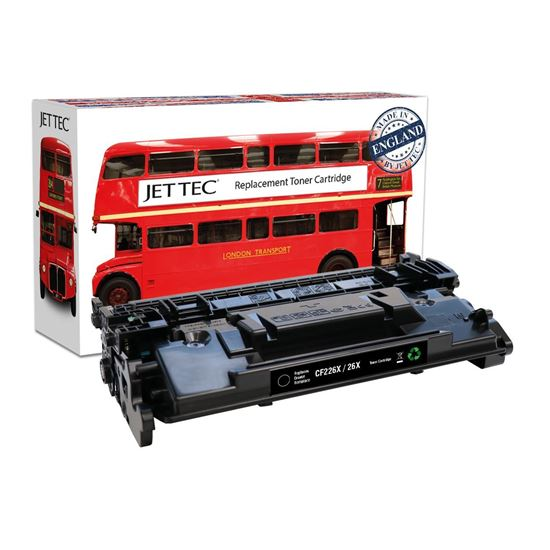 Picture of Red Bus Recycled HP 26X High Yield Black (CF226X) Toner Cartridge