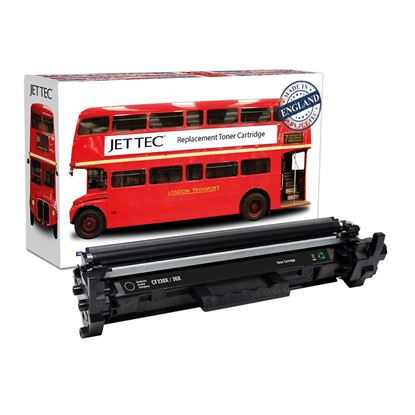 Picture of Red Bus Recycled HP 30X High Yield Black (CF230X) Toner Cartridge