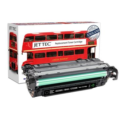Picture of Red Bus Recycled HP 504X High Yield Black (CE250X) Toner Cartridge