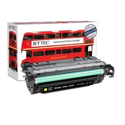 Picture of Red Bus Recycled HP 504A Yellow (CE252A) Toner Cartridge