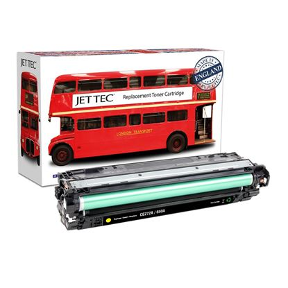 Picture of Red Bus Recycled HP 650A Yellow (CE272A) Toner Cartridge