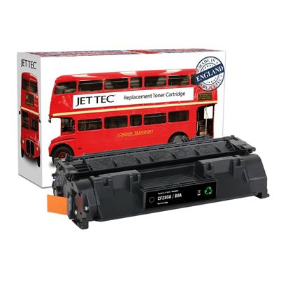Picture of Red Bus Recycled HP 80A Black (CF280A) Toner Cartridge