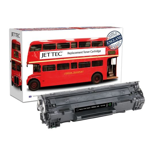 Picture of Red Bus Recycled HP 83A Black (CF283A) Toner Cartridge