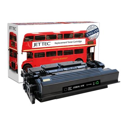 Picture of Red Bus Recycled HP 87X High Yield Black (CF287X) Toner Cartridge