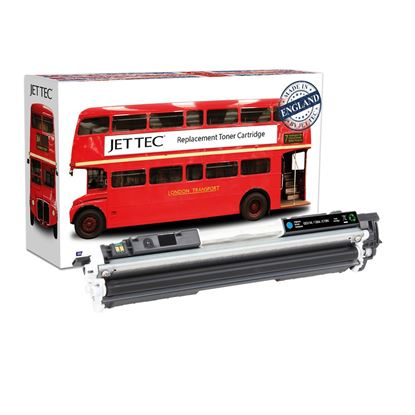 Picture of Red Bus Recycled HP 126A Cyan (CE311A) Toner Cartridge