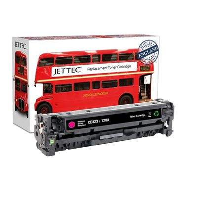 Picture of Red Bus Recycled HP 128A Magenta (CE323A) Toner Cartridge