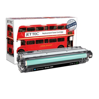 Picture of Red Bus Recycled HP 307A Cyan (CE741A) Toner Cartridge